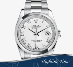 Rolex-Datejust-36mm-116200-List-$6600-Sale-$5800-White-Roman