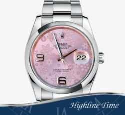 Rolex-Datejust-36mm-116200br-List-6600-Sale-5800-Pink-Flower