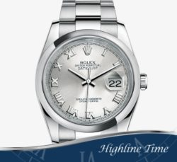 Rolex-Datejust-36mm-116200br-List-$6600-Sale-$5800-Silver-Roman