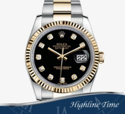 Rolex Datejust 36mm 116233d List $12850 Sale $10290