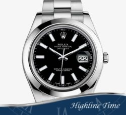 Rolex Datejust II 41mm 116300bk List $7150 Sale $6500