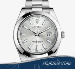 Rolex Datejust II 41mm 116300s List $7150 Sale $6500