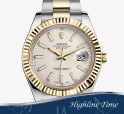 Rolex Datejust II 41mm 116333w List $11650 Sale 9700