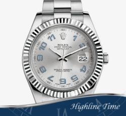 Rolex Datejust II 41mm 116334sb List $9100 Sale $7800