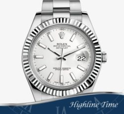 Rolex Datejust II 41mm 116334ws List $9100 Sale $7800