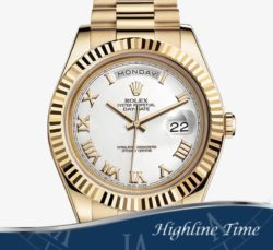Rolex Day Date II Y Gold  41mm 218238 List $34850 Sale $26900