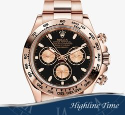 Rolex Daytona Rose 40mm 116505 List $37450 Sale $28900