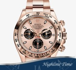 Rolex Daytona Rose 40mm 116505ch List $37450 Sale $28800