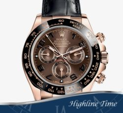 Rolex Daytona Rose 40mm 116515 List $28800 Sale $22900