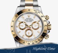Rolex Daytona Steel Gold 40mm 116523 List $18850 Sale $14900