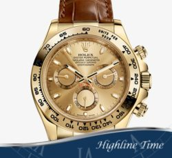 Rolex Daytona Y Gold  40mm 116518 List $25150 Sale $19690