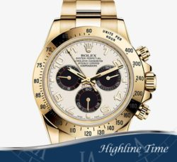 Rolex Daytona Y Gold  40mm 116528 List $34650 Sale $26590