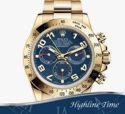 Rolex Daytona Y Gold  40mm 116528 List $34650 Sale $26690