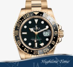 Rolex Gmt  Gold  40mm 116718b List $33250 Sale $25900