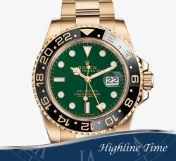 Rolex Gmt  Gold  40mm 116718g List $33250 Sale $25900