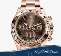 Rolex-Daytona-Rose-40mm-116505-List-$37450-Sale-$28900-Chocolate