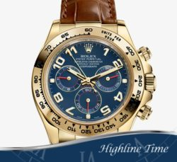 Rolex-Daytona-Y-Gold--40mm-116518-List-$25150-Sale-$19690-Blue