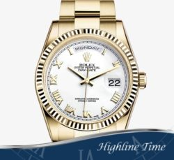 Rolex-President-36mm-118238-List-$29750-Sale-$24000-White-Roman