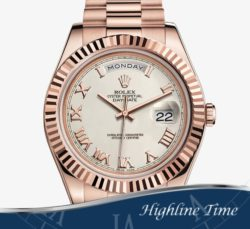 Rolex day date II 218235 rose