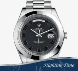 Rolex day date II 218236 black out